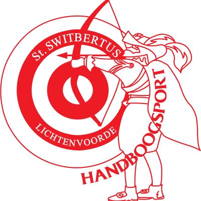 Switbertus_handboogsport_LOGO_Achter Rood klein